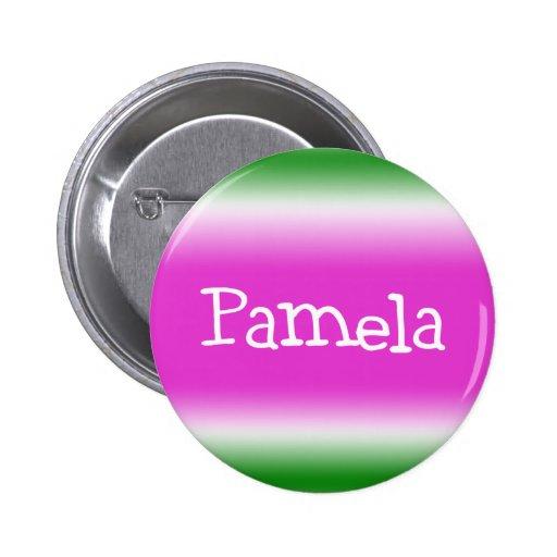 Pamela Pinback Button