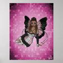 Pamela Pixie Dust Fairy Print print