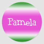 Pamela Sticker