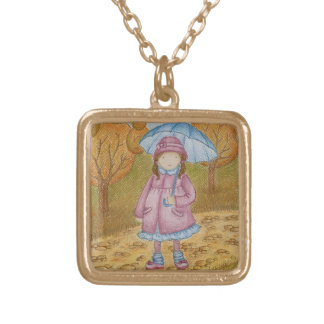 Pamella Gold Plated Necklace