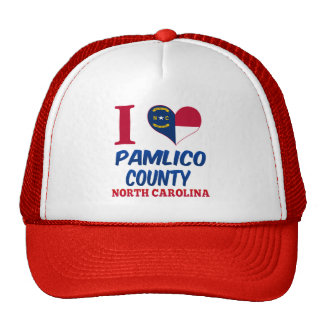 Pamlico County, North Carolina Trucker Hat