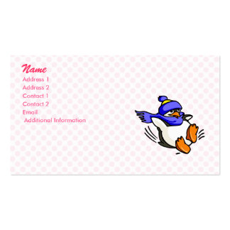 Pammy Penguin Business Card