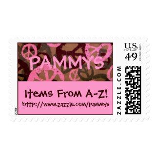 ¡PAMMYS, artículos del A-Z! ,… sello de la tienda