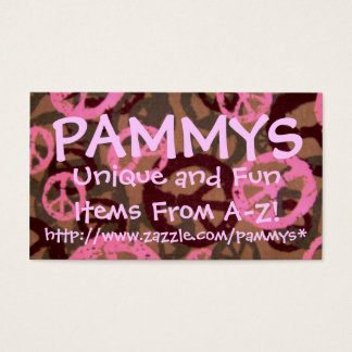 PAMMYS, http://www.zazzle.com/pammys*... Business Card