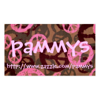 pammys, http://www.zazzle.com/pammys Double-Sided standard business cards (Pack of 100)