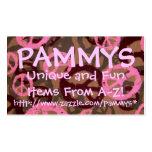 PAMMYS, http://www.zazzle.com/pammys*.. Tarjetas De Visita