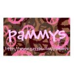 pammys, http://www.zazzle.com/pammys tarjetas de visita