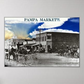 Pampa Historic Downtown Print