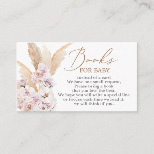 Pampas Grass desert Books for Baby Enclosure Card