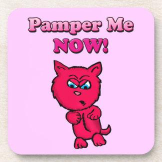 Pamper Me Now! Cork Coaster