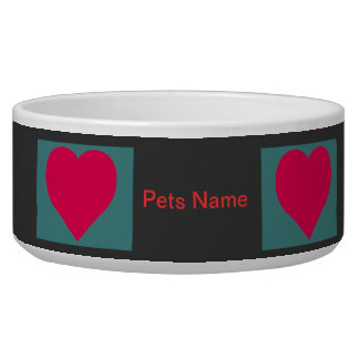 """Pamper Your Pooch Custom Bowl"" Bowl"