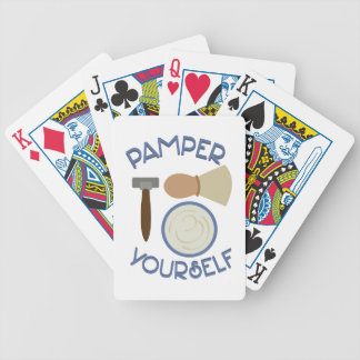 Pamper Yourself Bicycle Playing Cards