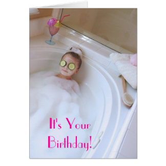 Pamper Yourself Card