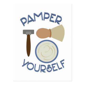 Pamper Yourself Postcard