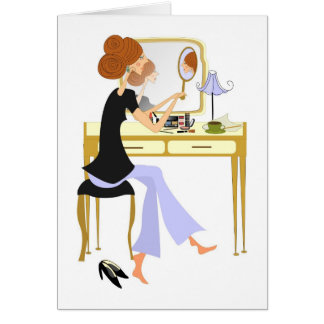 Pamper Yourself Stationery Note Card