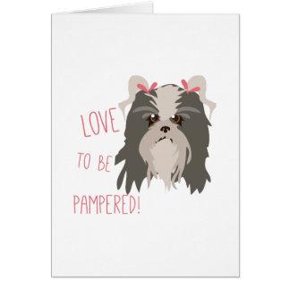 Pampered Pet Card