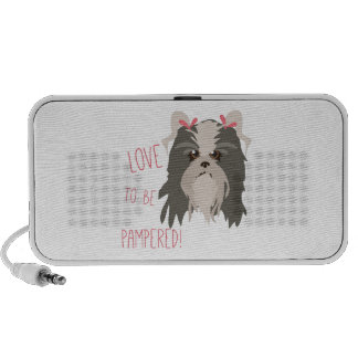 Pampered Pet Mp3 Speakers