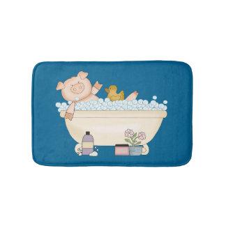 Pampered Piggy Bath Mat