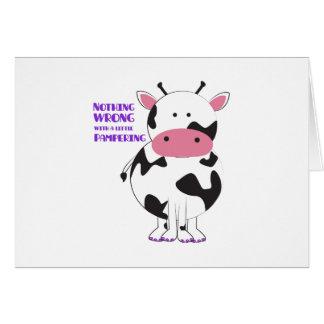 Pampering Greeting Card
