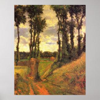 Pamplin de Eugène Enrique Paul Gauguin Poster