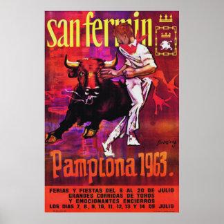 Pamplona 1963 póster