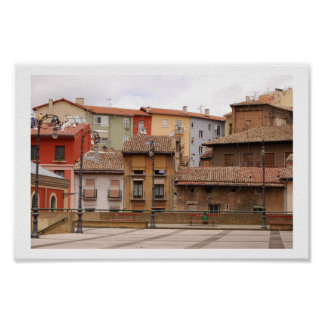 pamplona color poster