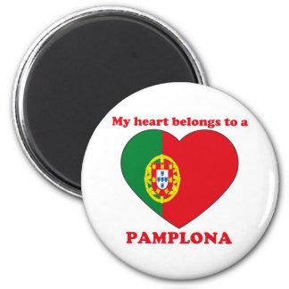 Pamplona Imán Redondo 5 Cm