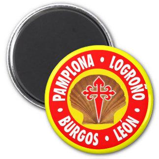 Pamplona Lograño Burgos León Imán Redondo 5 Cm