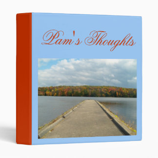 Pam's-Lake/Dock View Design Binder Thoughts