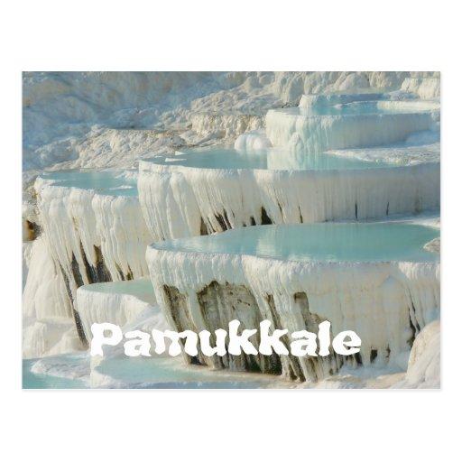 Pamukkale, postal de Turquía