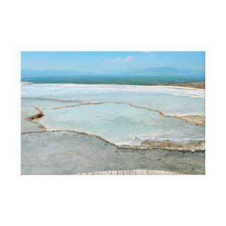 pamukkale turkey tourism travel hierapolis canvas print