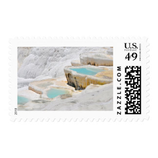 pamukkale turkey tourism travel hierapolis postage