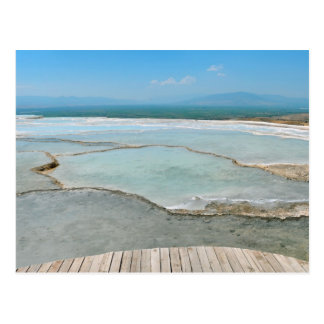 pamukkale turkey tourism travel hierapolis postcard