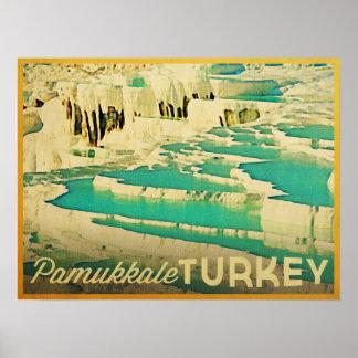 Pamukkale Turquía Poster