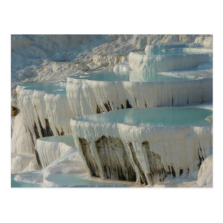 Pamukkale UNESCO world heritage Postcard