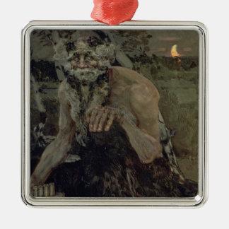 Pan, 1899 metal ornament