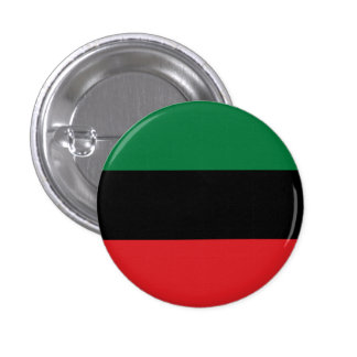 Pan African Black Power Button