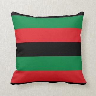Pan-African Black Pride Pillow