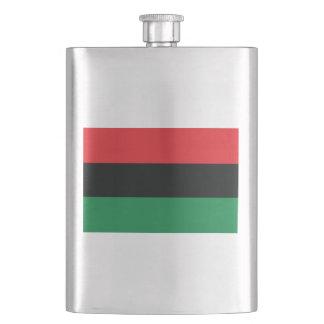 Pan African Flag Flask