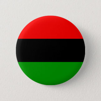 Pan-African Flag Pinback Button