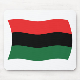 Pan African (UNIA) Flag Mousepad
