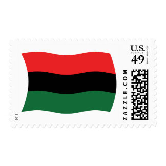 Pan African (UNIA) Flag Stamps