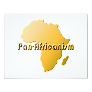 Pan-AFricanism #2 4.25x5.5 Paper Invitation Card