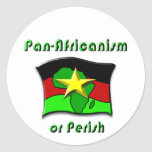 Pan-Africanism or Perish #2 Sticker