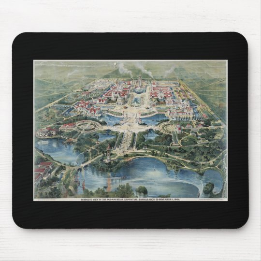 Pan American Exposition Buffalo1901 Mouse Pad