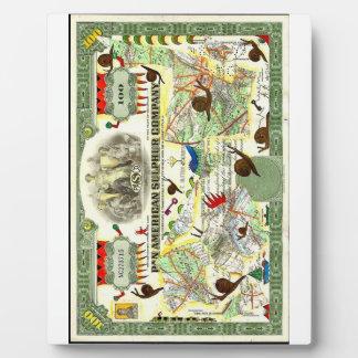 """Pan American Sulphur Company""  (ArtWall) Display Plaques"