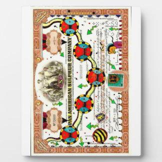 """Pan American Sulphur Company"" Plaque Print w/ Eas"