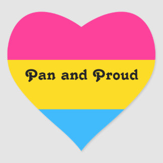 Pan and Proud Sticker