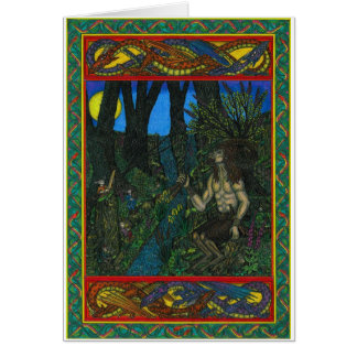 Pan and the Fairys Card