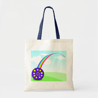 Pan at the end of the rainbow tote